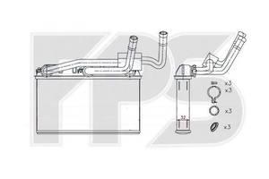 Новые Радиаторы печки BMW X5