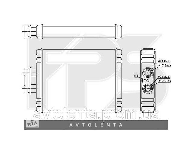 бу Радиатор печки Volkswagen Polo / Skoda Fabia / Seat Ibiza (AVA) FP 74 N175-X в Києві