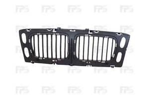 Решетка радиатора BMW 5 E34 94-96 средняя часть, без хром рамок (FPS) 51138148727