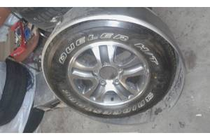 Шина Bridgestone Dueler H/T 275/65 R17 запаска в металлическом кожухе