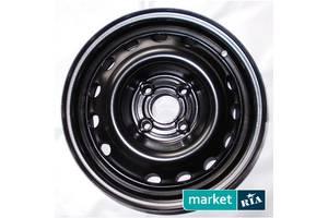 Стальные диски   (R15 W6 PCD4x100 ET43 ET60.1)
