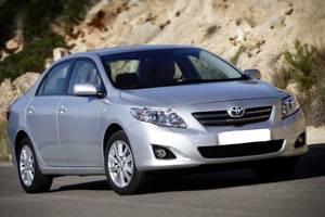Нові фари Toyota Corolla