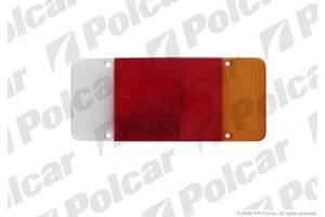 Стекло фонаря заднего, правое (борта, с фарой заднего хода, 300x130мм, -03) для Citroen C25 (1981-1994)