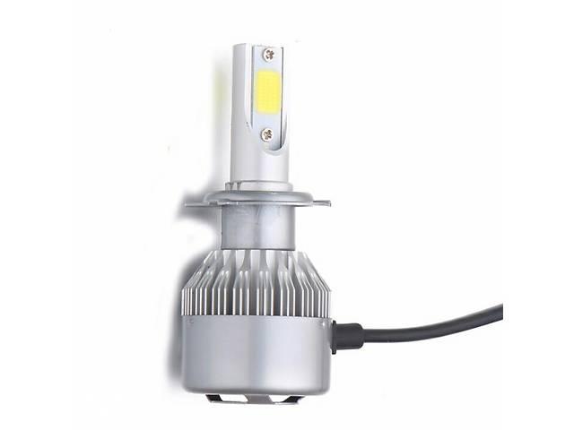 бу Светодиодные автомобильные LED лампы S2 - 8000LM в фары H3 H7. Цена за пару! Новые! Н3 Н7 в Черкассах