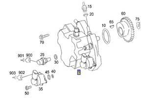 Новые Топливные насосы высокого давления/трубки/шестерни Mercedes E-Class