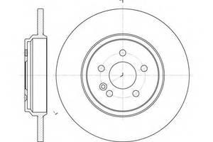 Тормозные диски Mercedes M-Class
