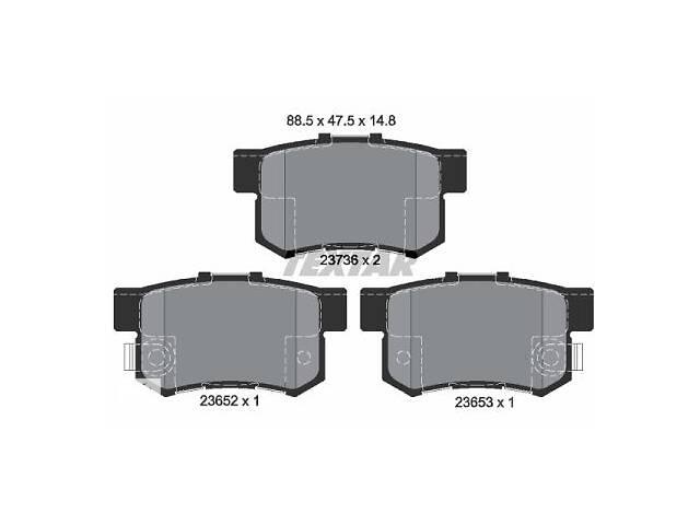 бу Тормозные колодки дисковые ACURA TL / ACURA RL / ACURA RDX / HONDA 1993-2015 г. в Одессе