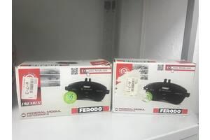 Тормозные колодки передние FERODO FDB765  и задние FERODO FDB1604