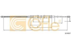 Трос стояночного тормоза SKODA OCTAVIA I (1U2) 1996-2010 г.