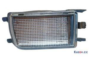 Указатель поворота в бампере VW Golf III 91-97 левый, белый (Depo) 1H0953156 1H0953155