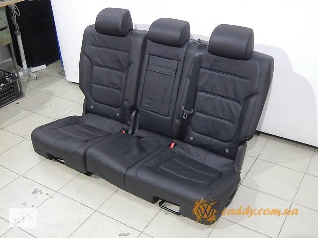 купить бу Volkswagen Touareg R-line - кожаный диван в Киеве
