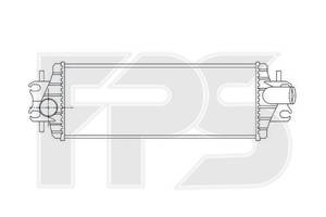 Интеркулер Chevrolet / Opel / Daewoo (NRF) FP 56 T38-X NRF FP 56 T38-X