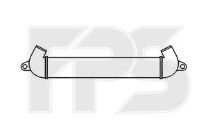 Интеркулер Fiat Doblo, 01-