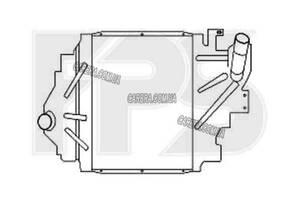 Інтеркулер RENAULT CLIO II 01-05 (B0 / 1/2)