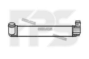 Інтеркулер RENAULT MEGANE 09-
