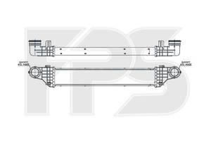 Радиаторы интеркуллера Mercedes E-Class