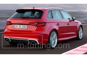 Новые Накладки бампера Audi A3
