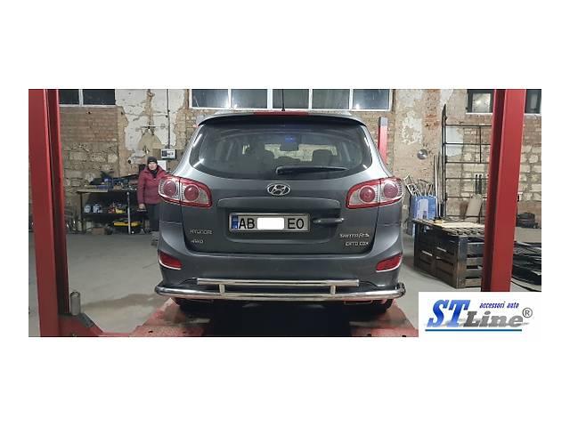 купить бу Защита задняя Hyundai Santa Fe (HNSF.06.B1-45.6) в Луцке