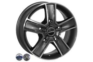 Zorat Wheels BK473 6.5x16 5x160 ET60 DIA65.1 GP (Ford Transit)