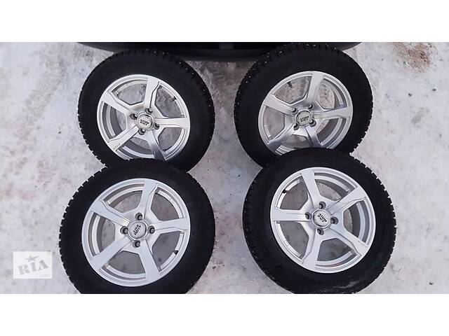 продам Зимние колёса в сборе для ВАЗ R14 185/60 4X98 бу в Кропивницком (Кировоград)