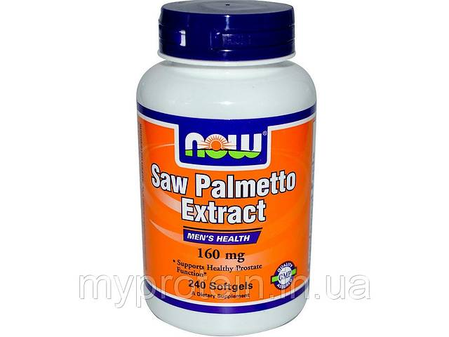 бу здоровье простаты экстракт пальметто Saw Palmetto Extract (60 softgels) Art. mypr-213213986 в Киеве