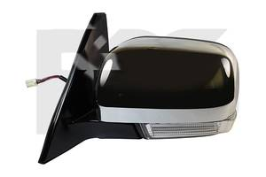 Зеркало боковое для Mitsubishi Pajero Wagon 4 07- правое (VIEW MAX) FP 3738 M02,