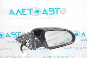 Зеркало боковое правое Kia Optima 16- 5 пинов, поворотник, черное 87620-D5030 разборка Алето Авто запчасти Киа Оптима