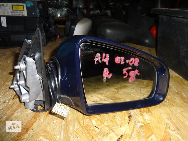 продам зеркало для Audi A4 B6 B7 2001-08 5pin бу в Львове