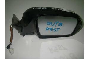 Зеркало прав электр 06- 9 pin Subaru Outback (BP) 2003-2009 91031AG463VW (6915)
