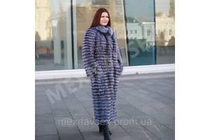 Кардиган из чернобурки 130см, меховое пальто, чернобурка в роспуск, шубка, шуба