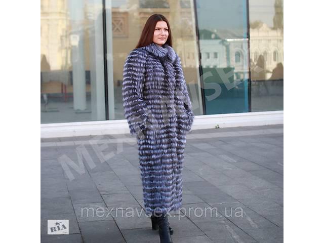бу Кардиган из чернобурки 130см, меховое пальто, чернобурка в роспуск, шубка, шуба в Львове