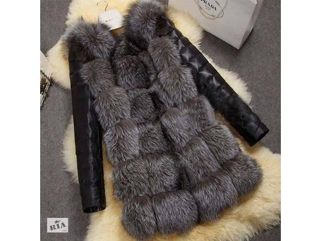 продам Женская куртка с лисьего меха. бу в Виннице