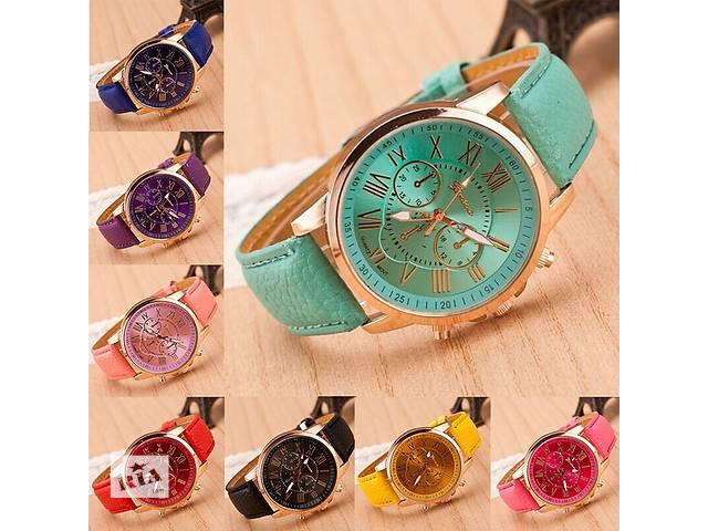 Женские часы Geneva - в ассортименте 10 расцветок- объявление о продаже  в Кривом Роге