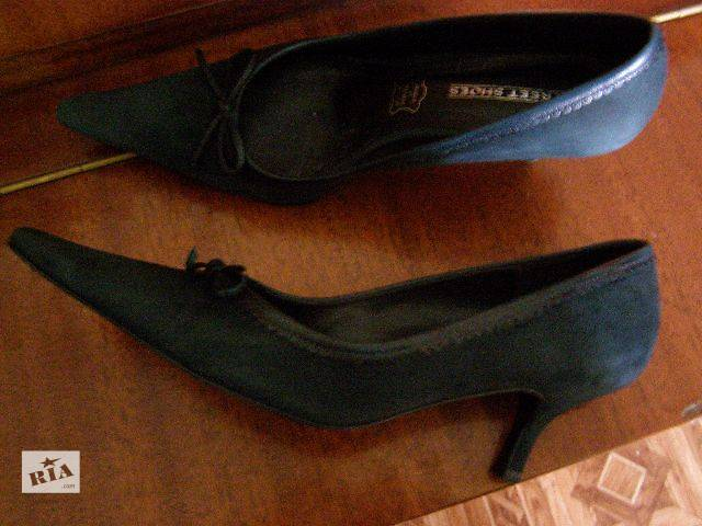продам Женские туфли от Street Shoes.Классика.Замш бу в Ромнах