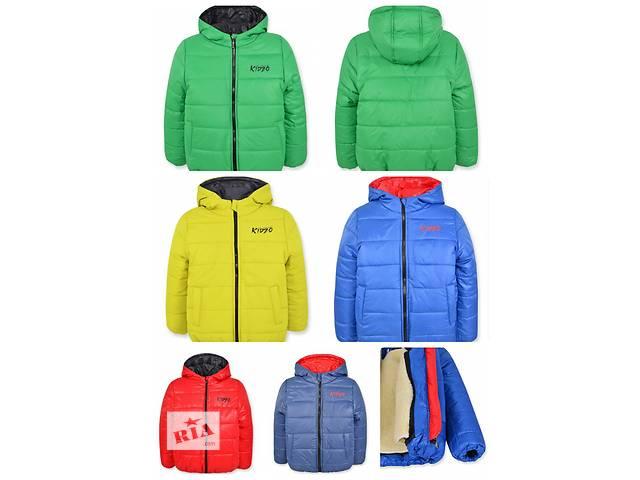 продам Зимняя детская куртка на меху, р.92-122 бу в Одессе