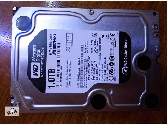 купить бу Жесткий диск WD Black 1TB WD1002FAEX 64MB в Киеве