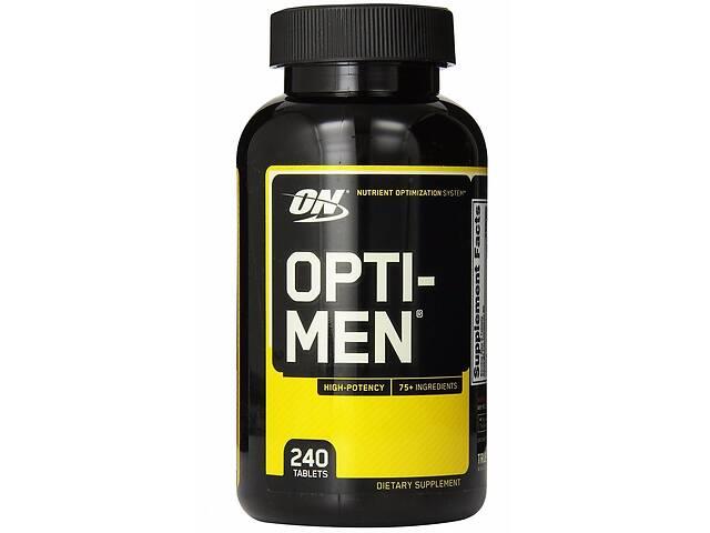 продам Комплекс витаминов Optimum Nutrition Opti-Men, 240 таб (103429) бу в Полтаве