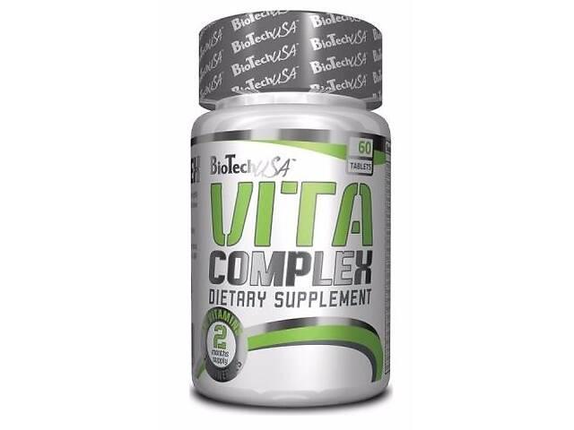 Комплекс витаминов и минералов BioTech USA Vita Complex 60 таб (101292)- объявление о продаже  в Полтаве