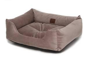 Лежак Noble Pet Dominic 55 х 45 x 15 см Серый (D2111)