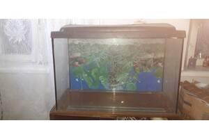 Продам аквариум б/у на 100 литров