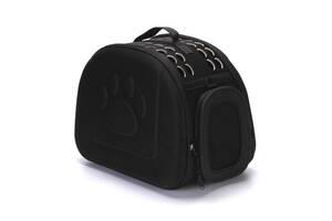 Сумка переноска Happy Paw для домашних животных Черный ( код: IBH005B )