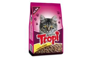 TROPI сухой корм для кошек с курицей