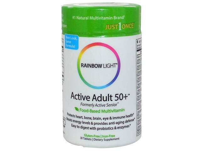бу Усиленный комплекс витаминов 50+ Rainbow Light 30 таблеток (14741) в Киеве