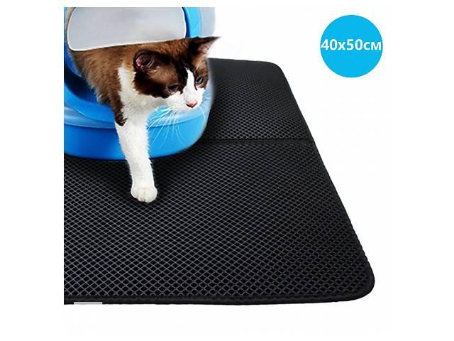 продам Водонепроницаемый коврик для кошачьего туалета 40х50см CLM01 Black SKL25-223324 бу в Одессе