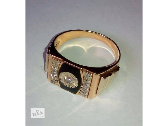 продам Золотой перстень для мужчины бу в Виннице