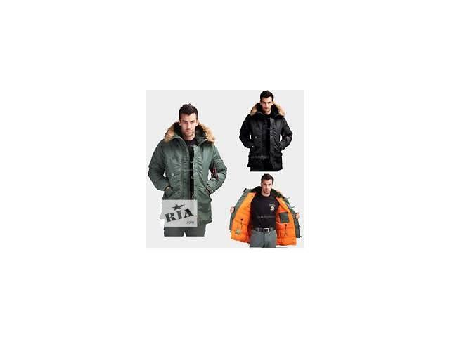 бу Зимняя куртка Аляска Slim fit N-3B Alpha industries™ USA в Киеве