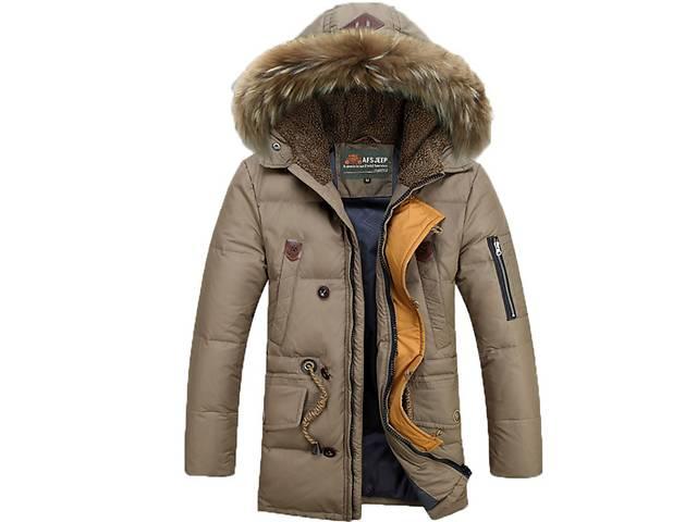 бу Зимняя мужская теплая куртка AFS JEEP в Киеве