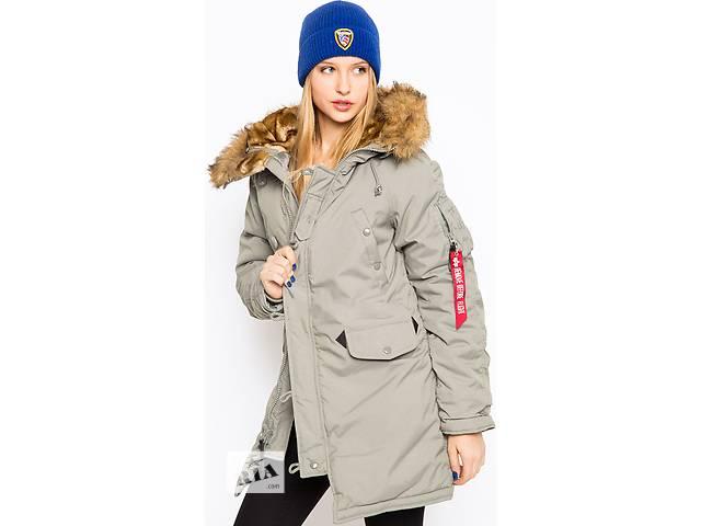 бу Зимова жіноча куртка аляска Altitude W Parka Alpha Industries (північно-зелений) в Львові