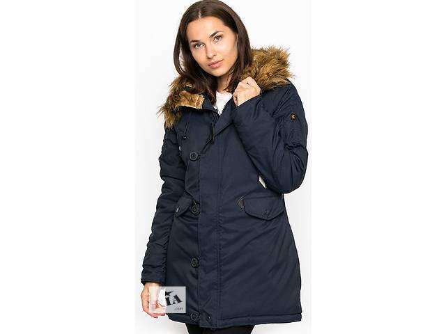 продам Зимова жіноча куртка аляска Altitude W Parka Alpha Industries (синя) бу в Львові