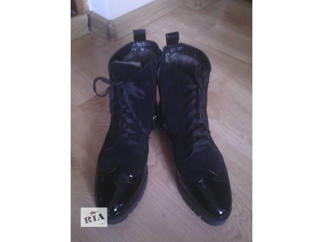 """бу Зимние ботинки """"Оксфорды"""" в Виннице"""